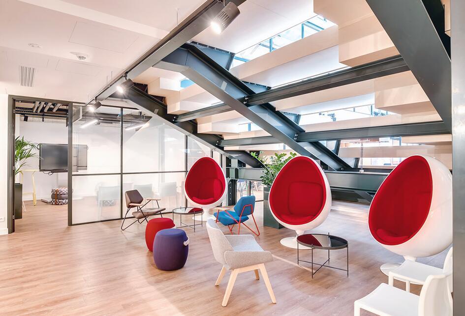 办公室翻新改造协作区的三个技巧