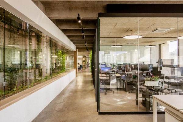 工业风办公室装修设计|南宁一善装饰专业办公空间装修公司