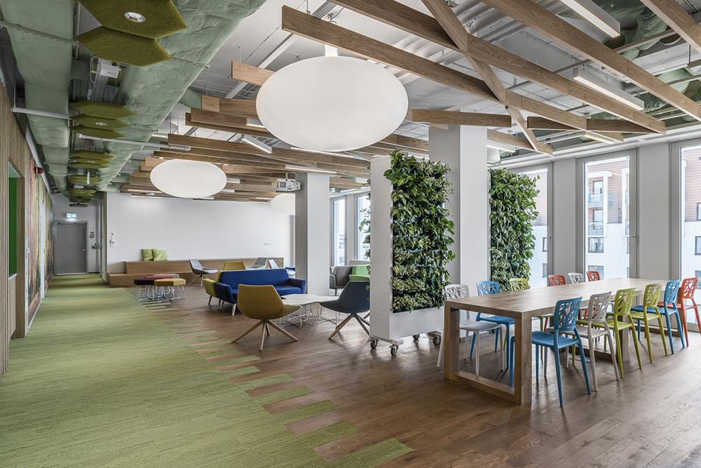 办公室装修究竟该怎样配色才能达到理想的效果