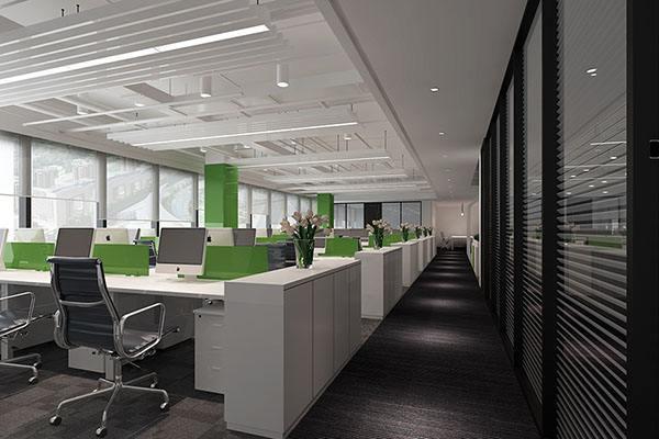 办公室装修设计要体现出企业的文化