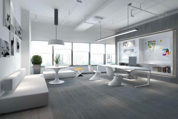 浅谈办公室装修设计特征可分为三大特点