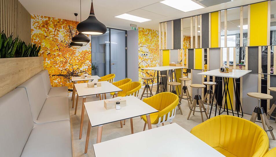 办公室翻新怎样才能更好的体现企业文化