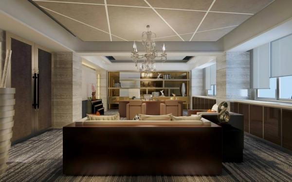南宁办公室装修设计空间色彩搭配七大技巧与方法