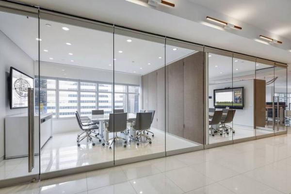 这么好看的工业风办公室装修设计效果图