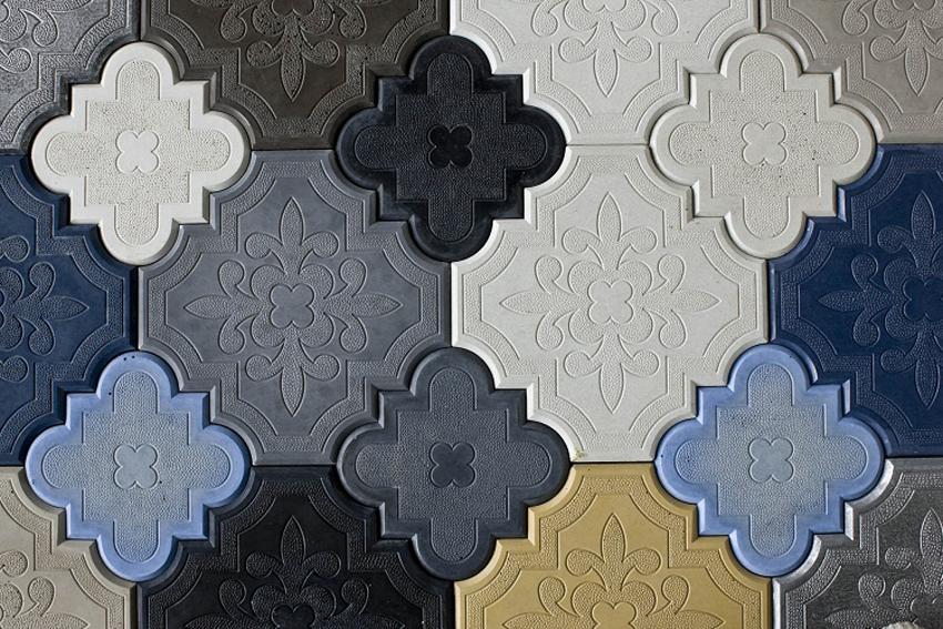 复古彩绘拼图磁砖-公装最好磁砖