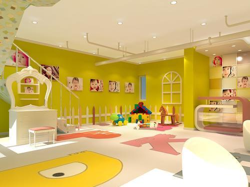 儿童影楼店面装修设计,来看看装修公司的介绍