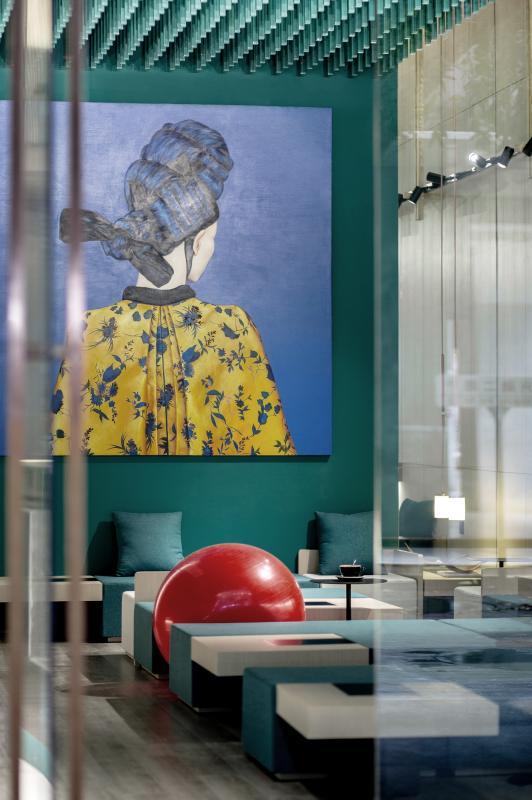 南宁主题学问餐厅设计效果图片