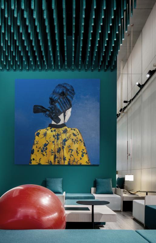 南宁特色主题学问餐厅设计装饰效果图片