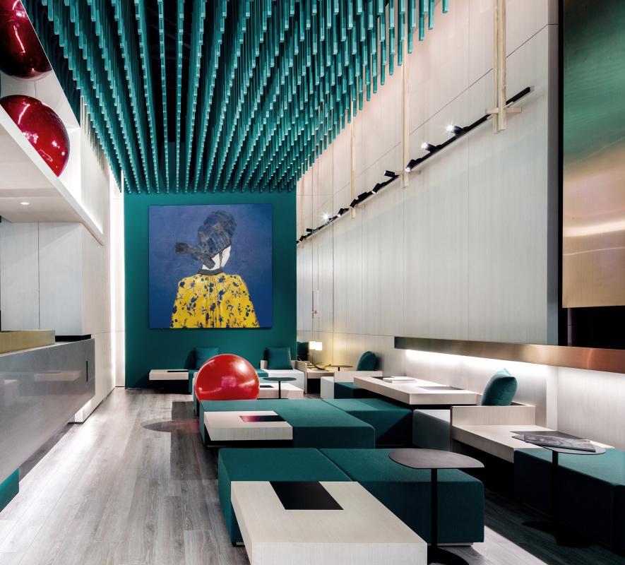 南宁主题文化餐厅设计装饰效果图