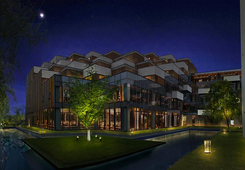 民宿酒店设计景观效果图