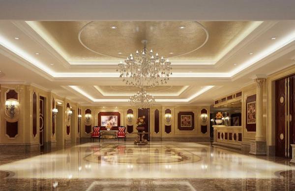 """酒店装修中庭,是成为酒店亮点还是""""槽点""""?"""