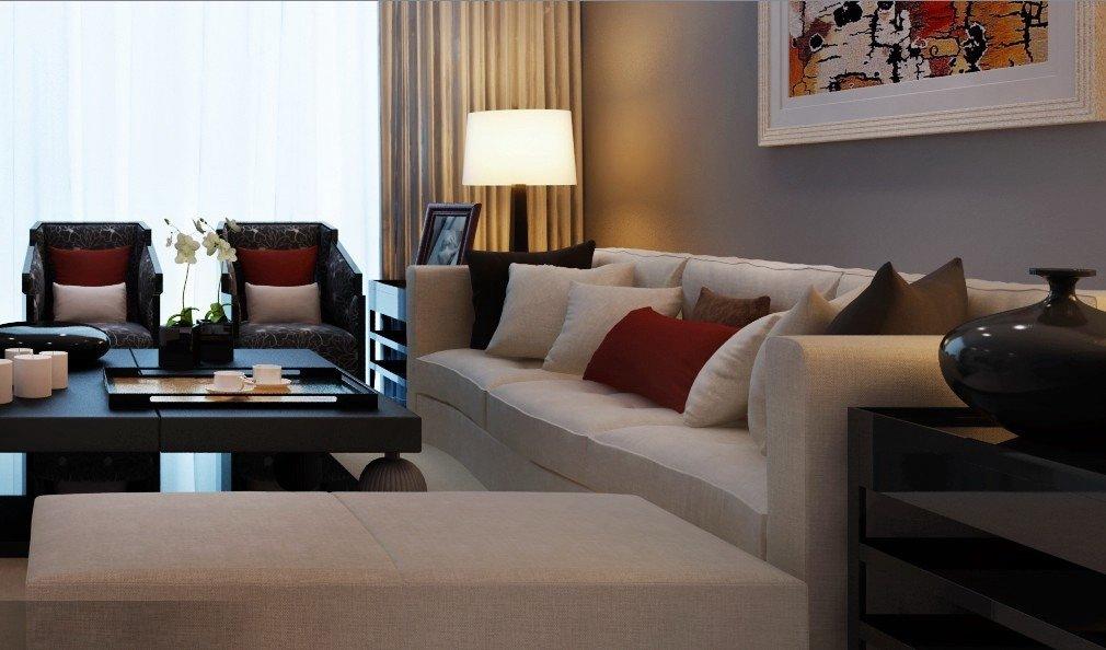 现代简约客厅装修设计风格效果图