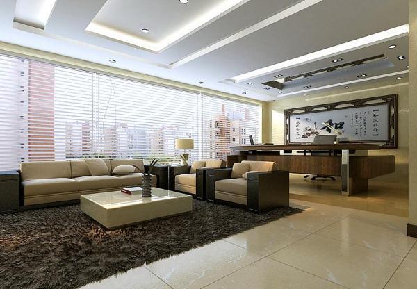 办公室空间装修设计风水色彩怎么搭配