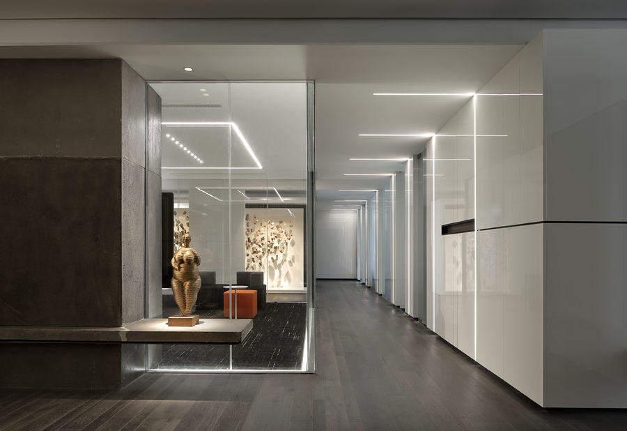 101平米办公室装修效果图