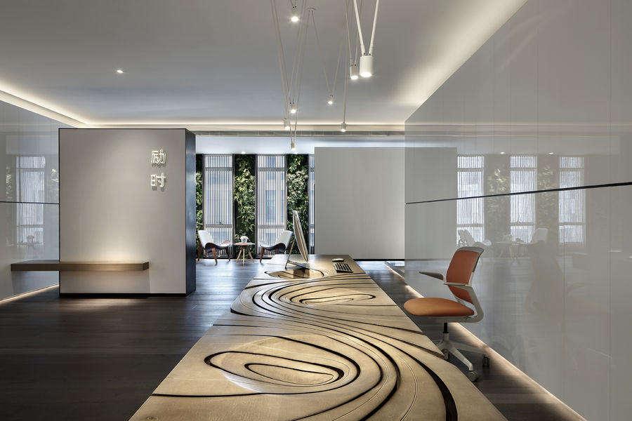 150平米办公室装修效果图