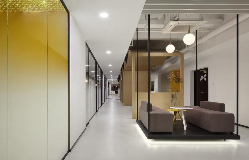 40平米办公室装修图
