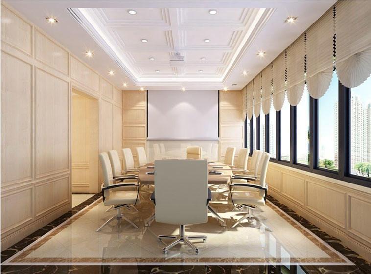 公安局会议室装修效果图