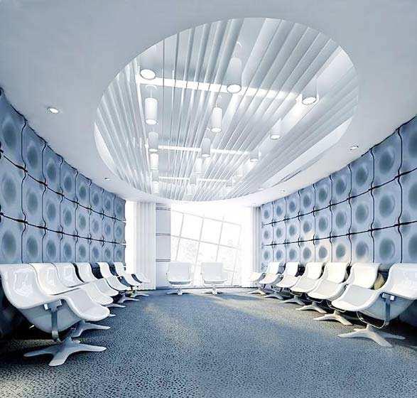 会议室装修效果图大全 政府
