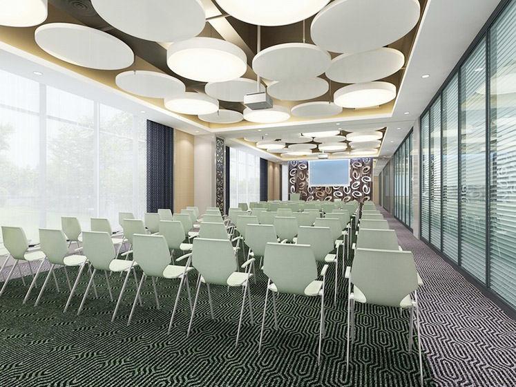 大型会议室效果图大全