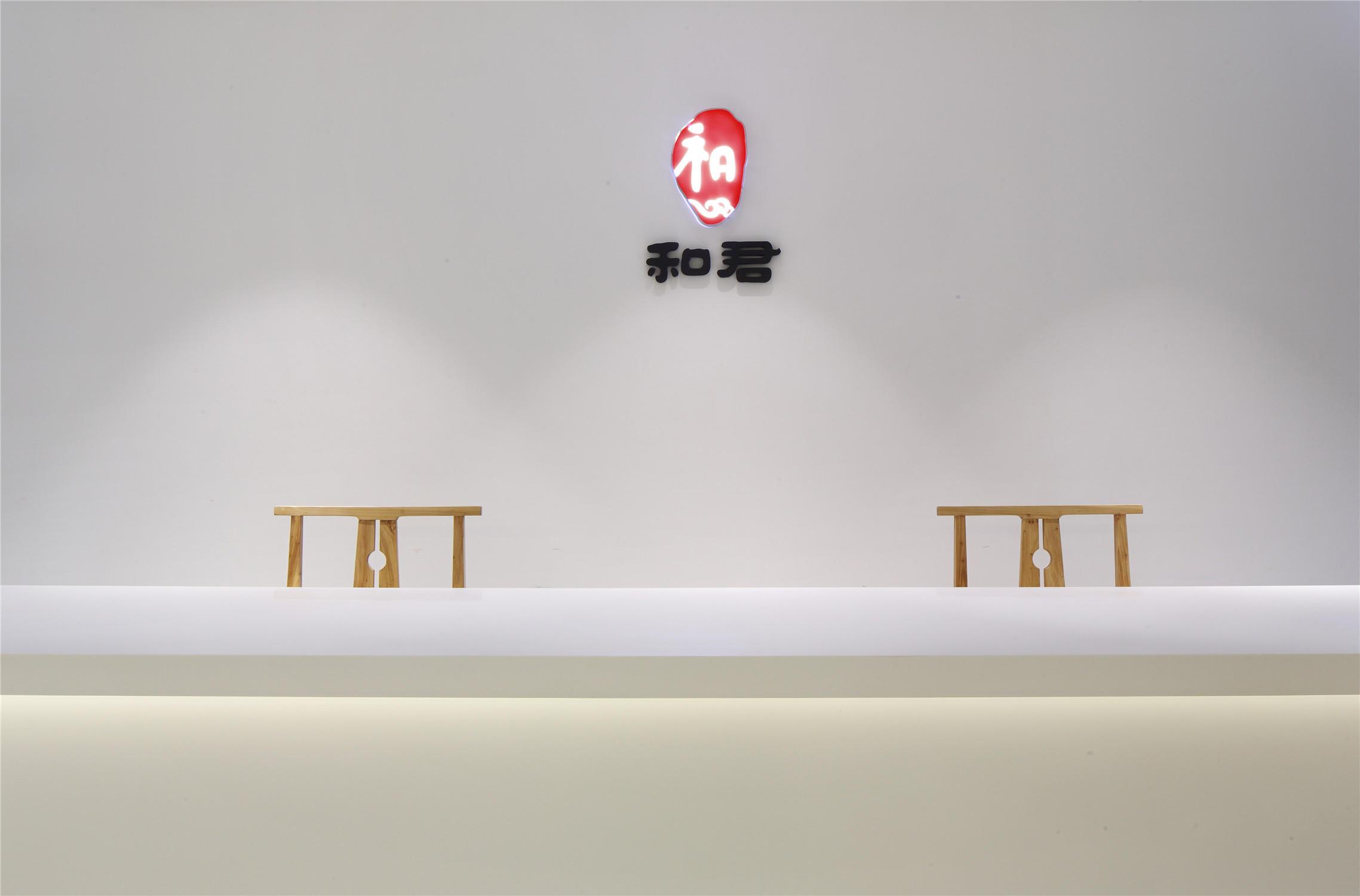 文化工作室装修门厅设计