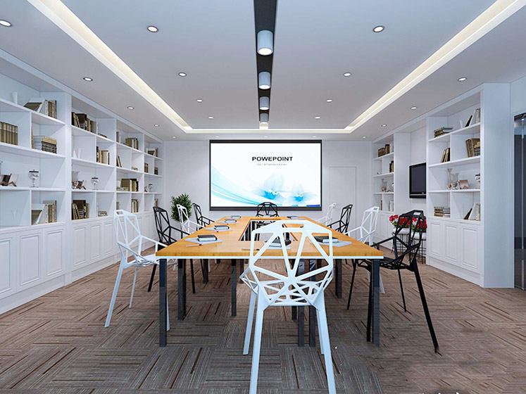 小型会议室布置图片