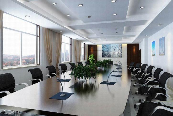 小型会议室布置效果图