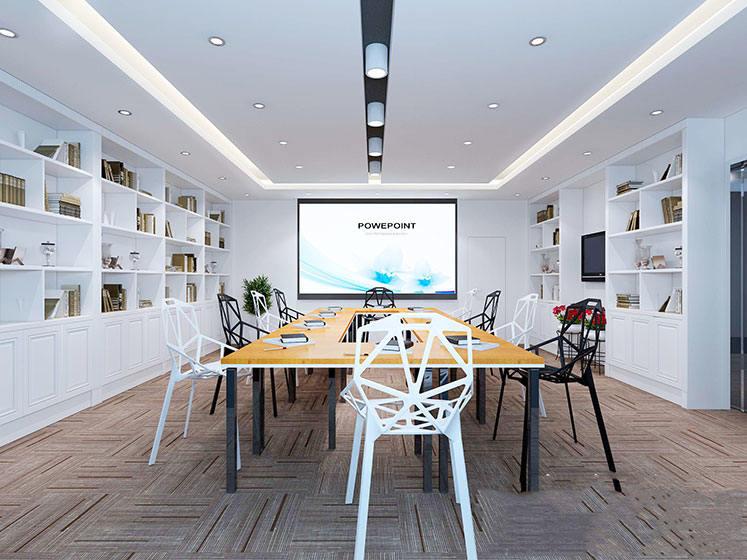 现代化会议室效果图
