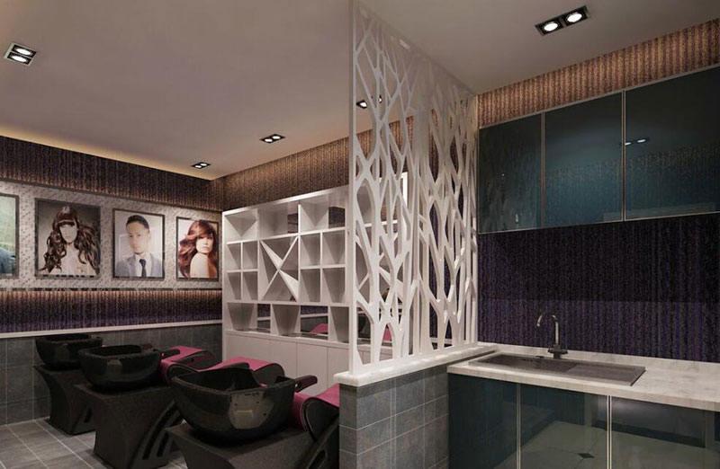 韩国美容院装修效果图