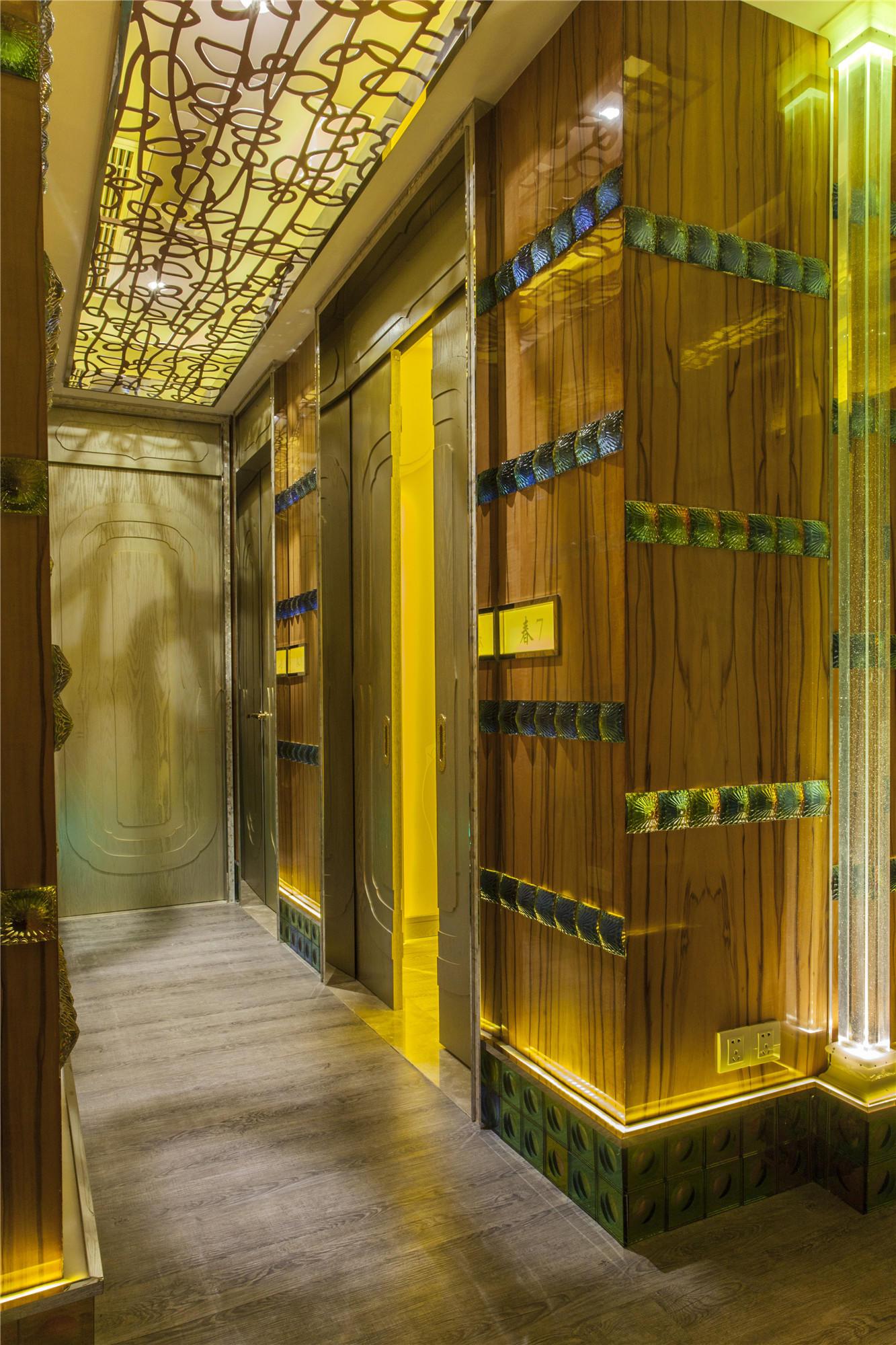 美容店装修走廊设计