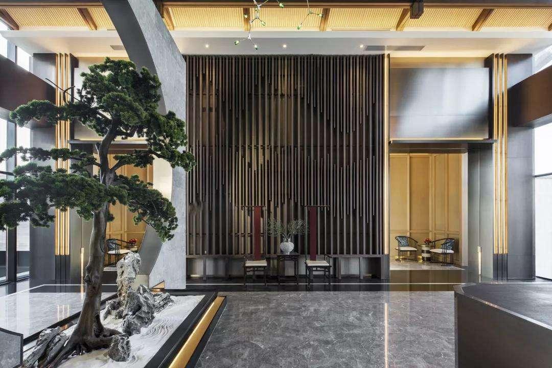 南宁新中式售楼部设计