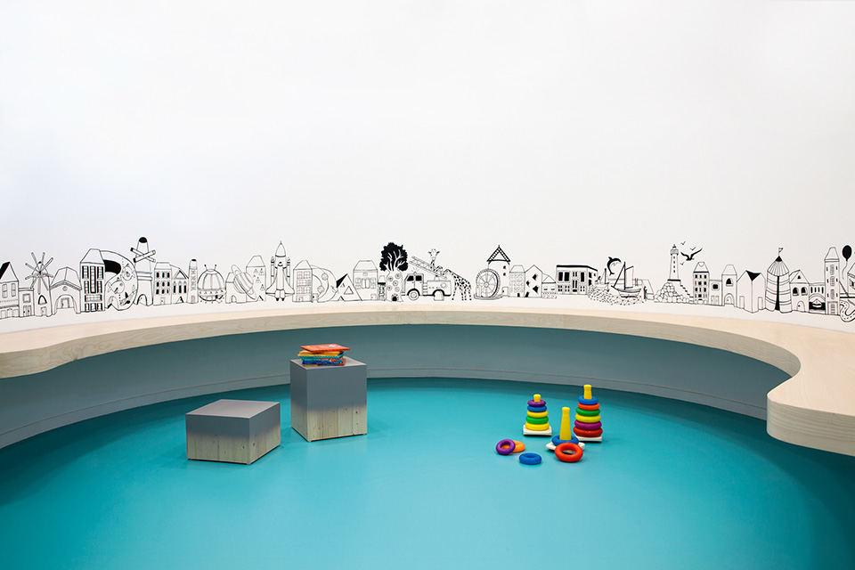 1000平幼儿园效果图