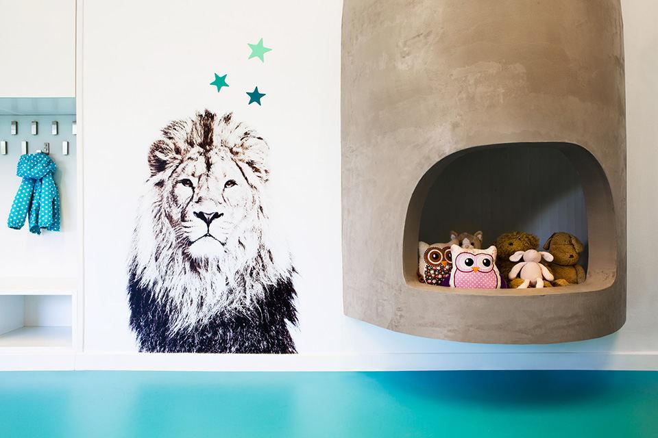 幼儿园装修风格图片