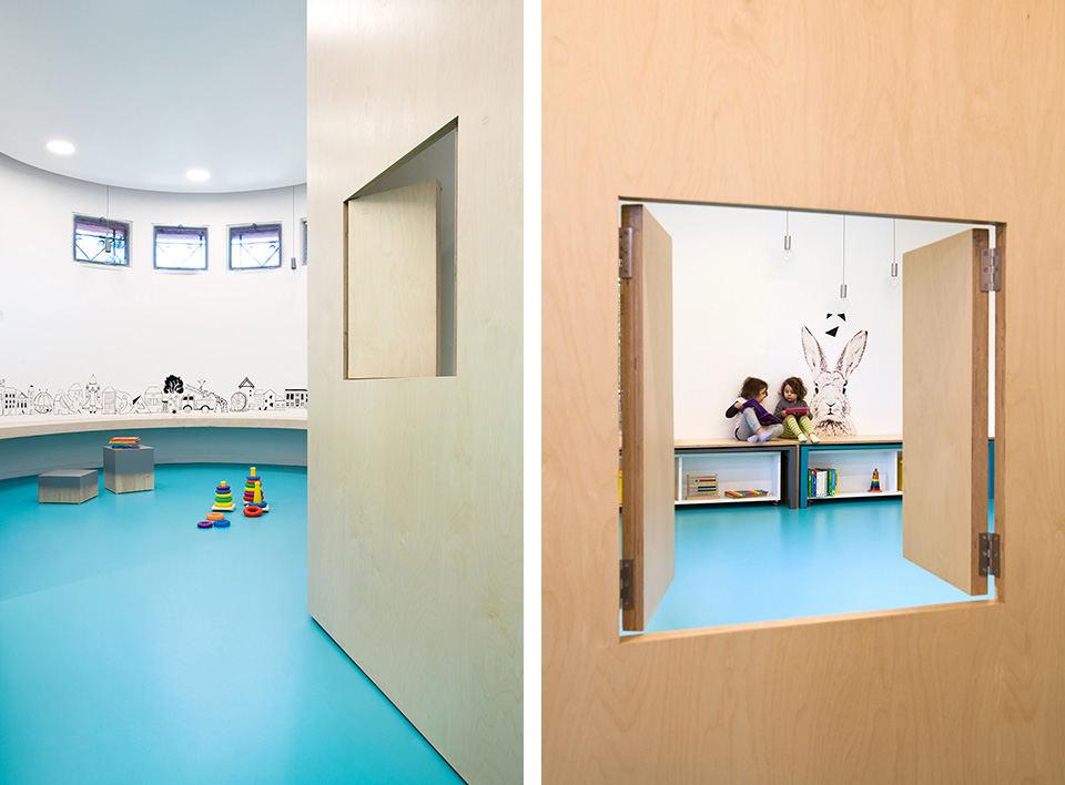现代幼儿园装修效果图