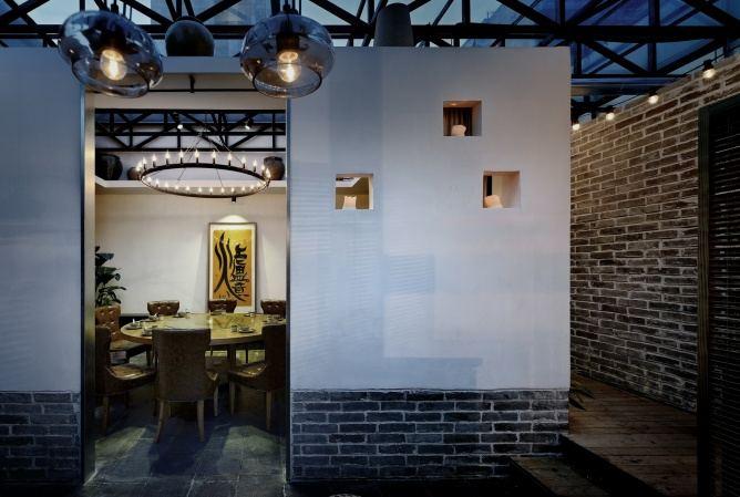 工业风格设计餐厅装修效果图