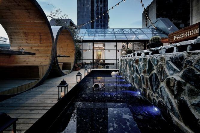 工业设计风格餐厅设计特点效果图
