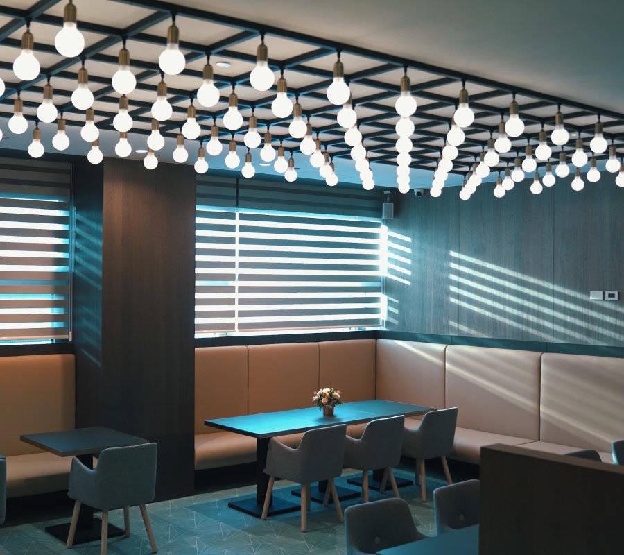 南宁私密性好的餐厅设计效果图