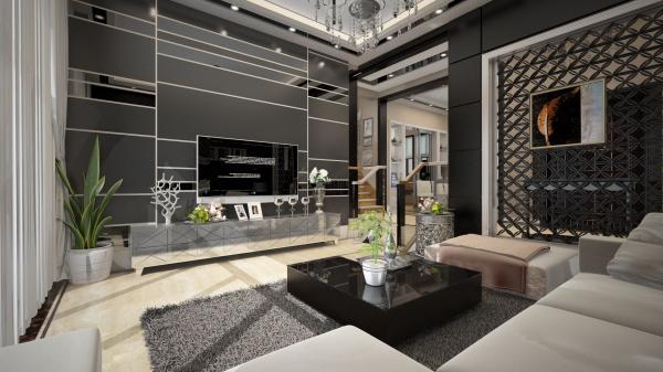 南宁别墅装修设计案例丨三代同堂的居家空装修设计